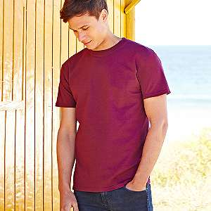 T-Shirt - FRUIT of the LOOM -  Super Premium T