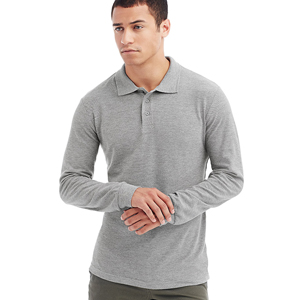 Poloshirt - Stedman -  Polo Long Sleeve