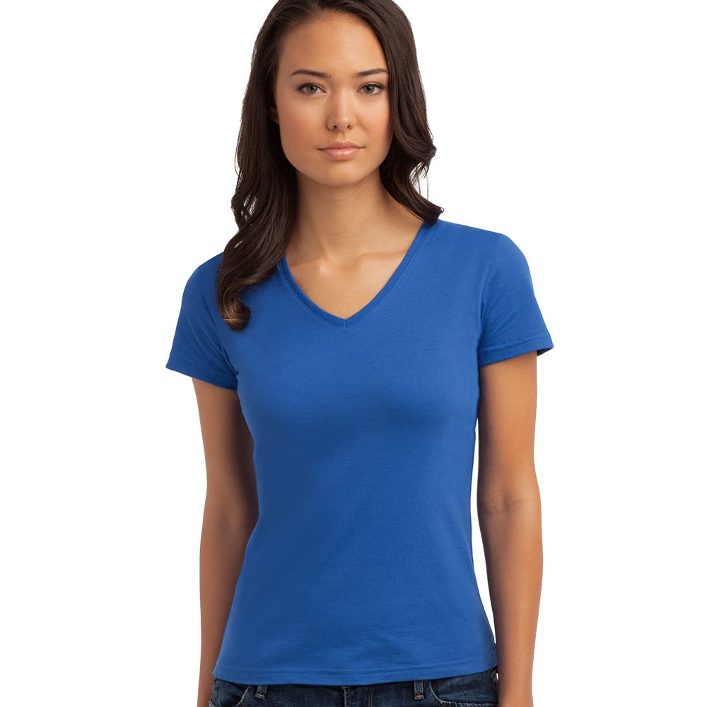 A004 Best Price V-Neck Girl