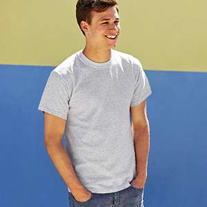 T-Shirt - FRUIT of the LOOM -  Heavy Cotton T