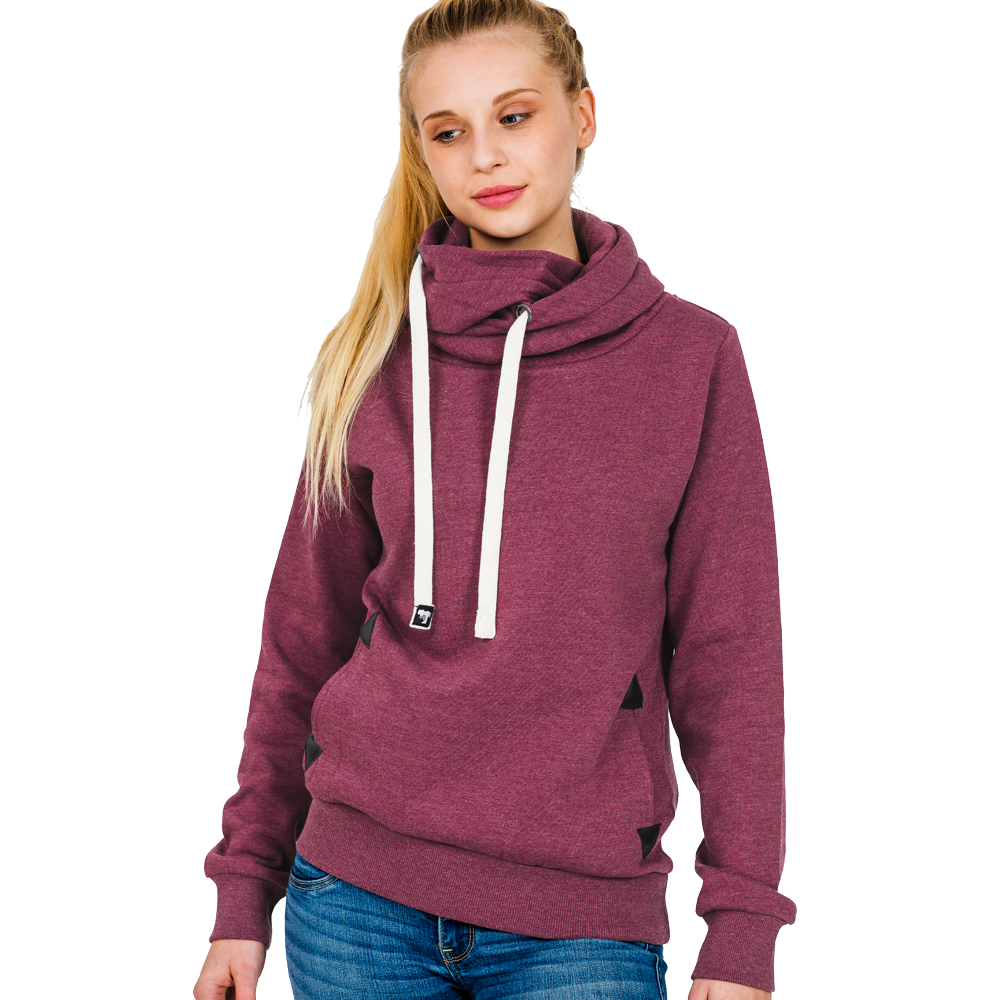 Sweater - HI 5 - MINA Melange Hooded Girl