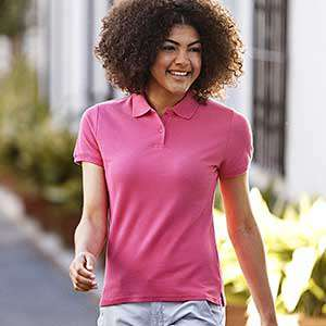 Poloshirt - FRUIT of the LOOM -  Lady Fit Premium Polo