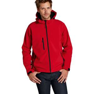 Softshell-Jacken - Sol s - Hooded Softshell Jacket Replay