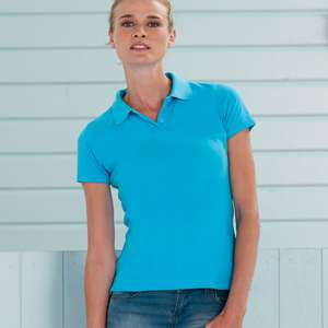 Poloshirt - Russell -  Ladies Classic Cotton Polo