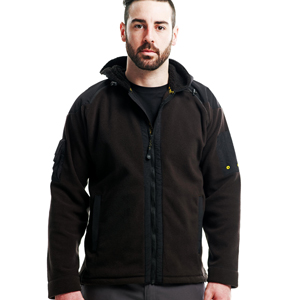 Arbeitskleidung - Regatta Hardwear -  Elevator Hooded Fleece Jacket